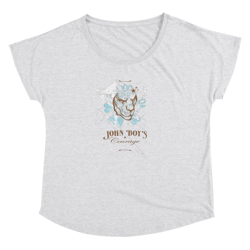 JBC GRAPHIC LION Women's Dolman Scoop Neck by TODD SARVIES BAND APPAREL