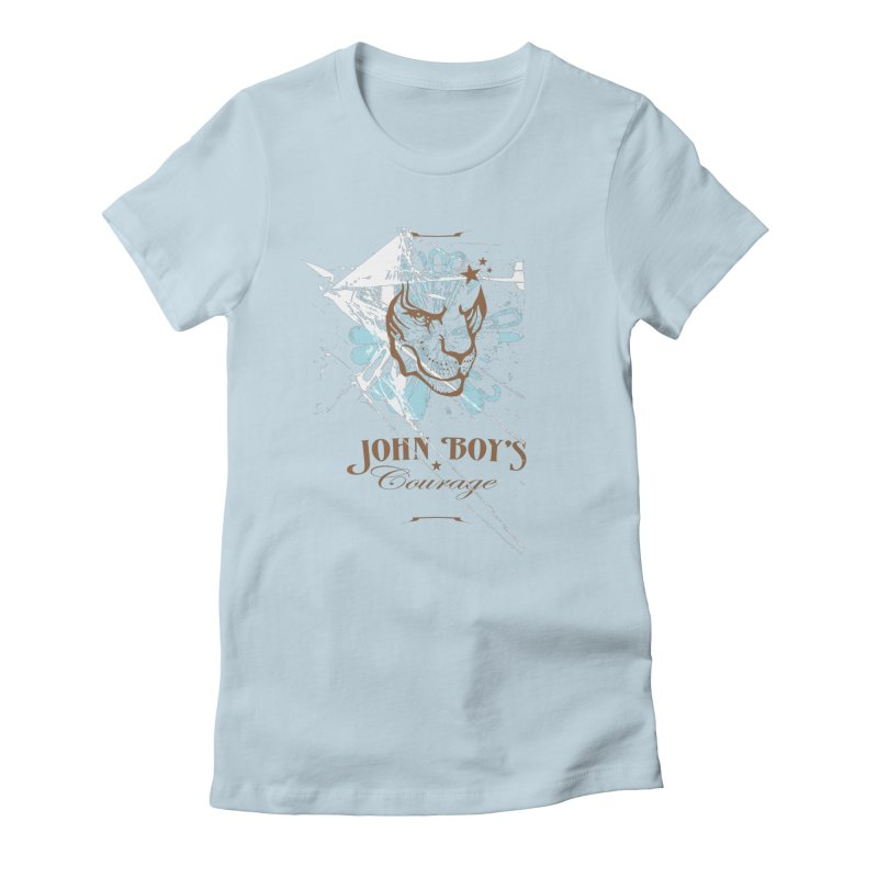 JBC GRAPHIC LION Women's T-Shirt by TODD SARVIES BAND APPAREL