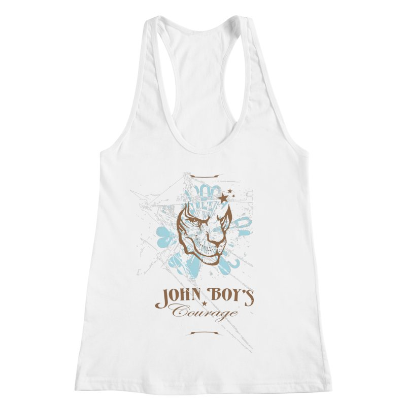 JBC GRAPHIC LION Women's Racerback Tank by TODD SARVIES BAND APPAREL