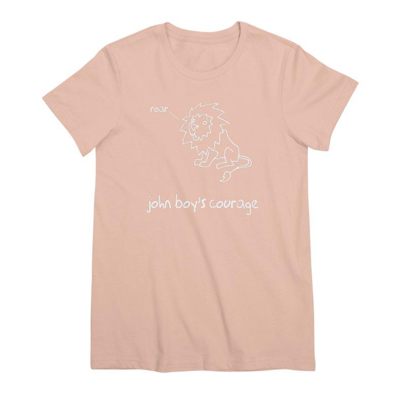 JBC CLASSIC LION Women's Premium T-Shirt by TODD SARVIES BAND APPAREL