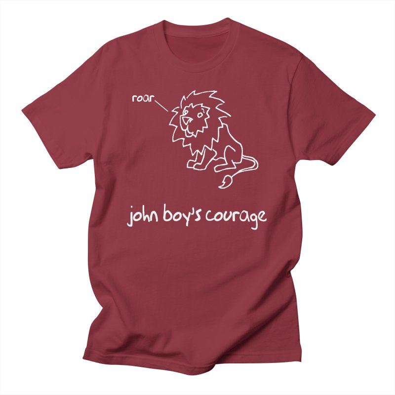 JBC CLASSIC LION Men's T-Shirt by TODD SARVIES BAND APPAREL