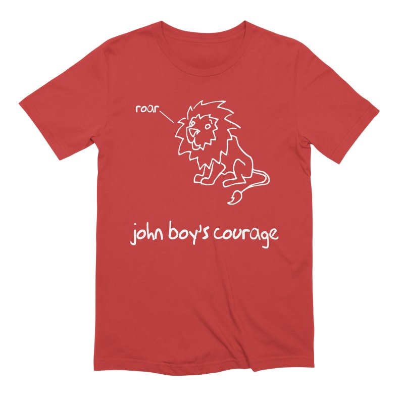 JBC CLASSIC LION Men's T-Shirt by TODD SARVIES BAND APPAREL