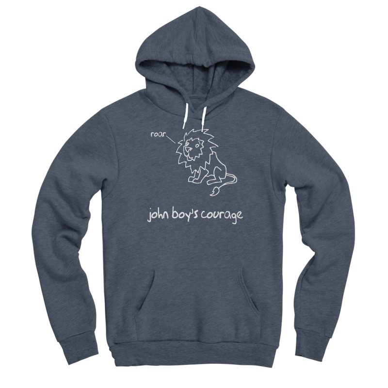 JBC CLASSIC LION Women's Pullover Hoody by TODD SARVIES BAND APPAREL