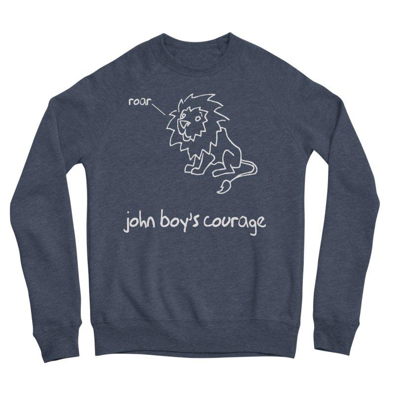 JBC CLASSIC LION Men's Sponge Fleece Sweatshirt by TODD SARVIES BAND APPAREL