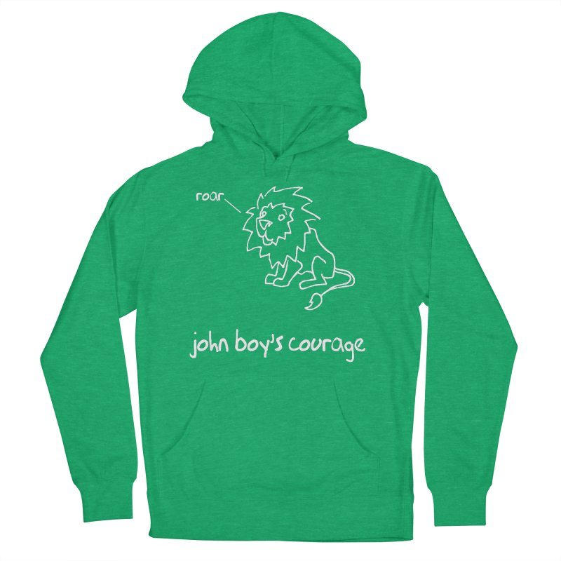 JBC CLASSIC LION Men's French Terry Pullover Hoody by TODD SARVIES BAND APPAREL
