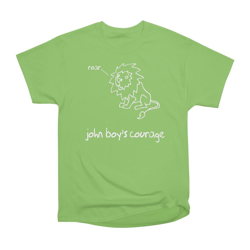 JBC CLASSIC LION Men's Heavyweight T-Shirt by TODD SARVIES BAND APPAREL