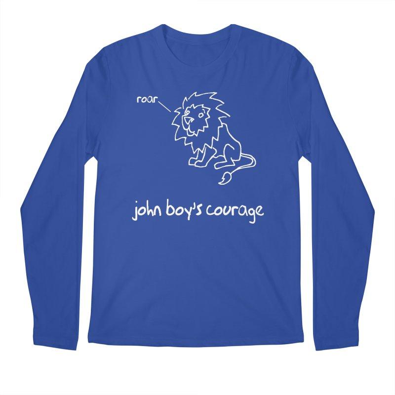 JBC CLASSIC LION Men's Regular Longsleeve T-Shirt by TODD SARVIES BAND APPAREL