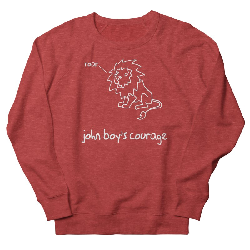 JBC CLASSIC LION Men's French Terry Sweatshirt by TODD SARVIES BAND APPAREL
