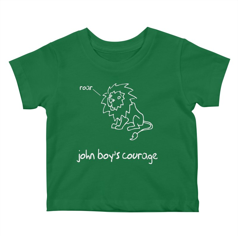JBC CLASSIC LION Kids Baby T-Shirt by TODD SARVIES BAND APPAREL