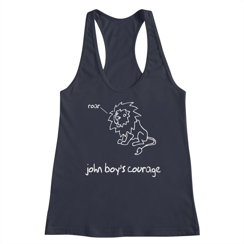 JBC CLASSIC LION Women's Racerback Tank by TODD SARVIES BAND APPAREL
