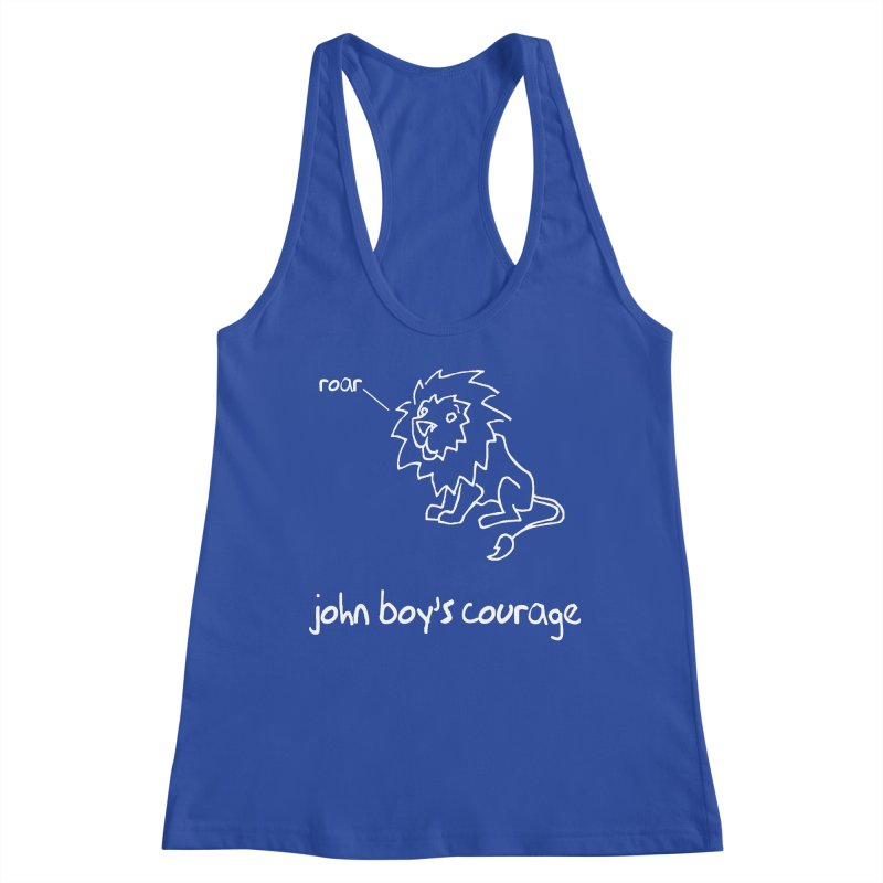 JBC CLASSIC LION Women's Tank by TODD SARVIES BAND APPAREL