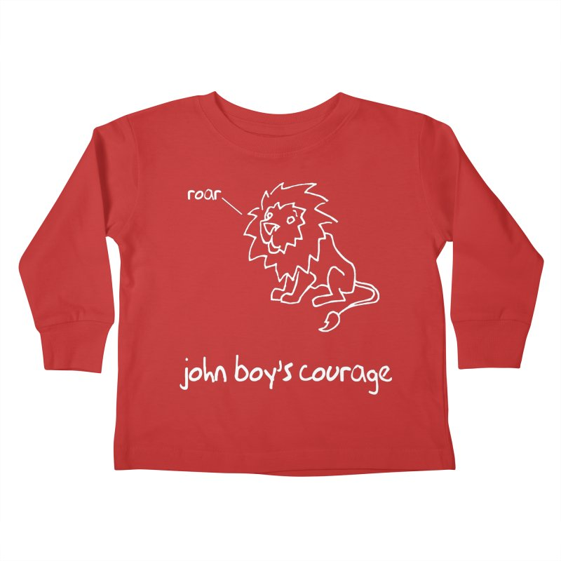 JBC CLASSIC LION Kids Toddler Longsleeve T-Shirt by TODD SARVIES BAND APPAREL