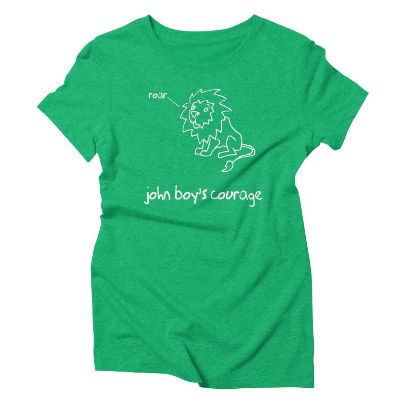 JBC CLASSIC LION Women's T-Shirt by TODD SARVIES BAND APPAREL