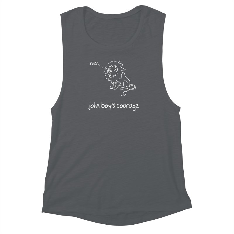 JBC CLASSIC LION Women's Muscle Tank by TODD SARVIES BAND APPAREL