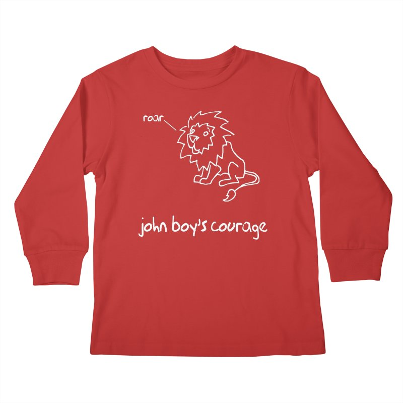 JBC CLASSIC LION Kids Longsleeve T-Shirt by TODD SARVIES BAND APPAREL