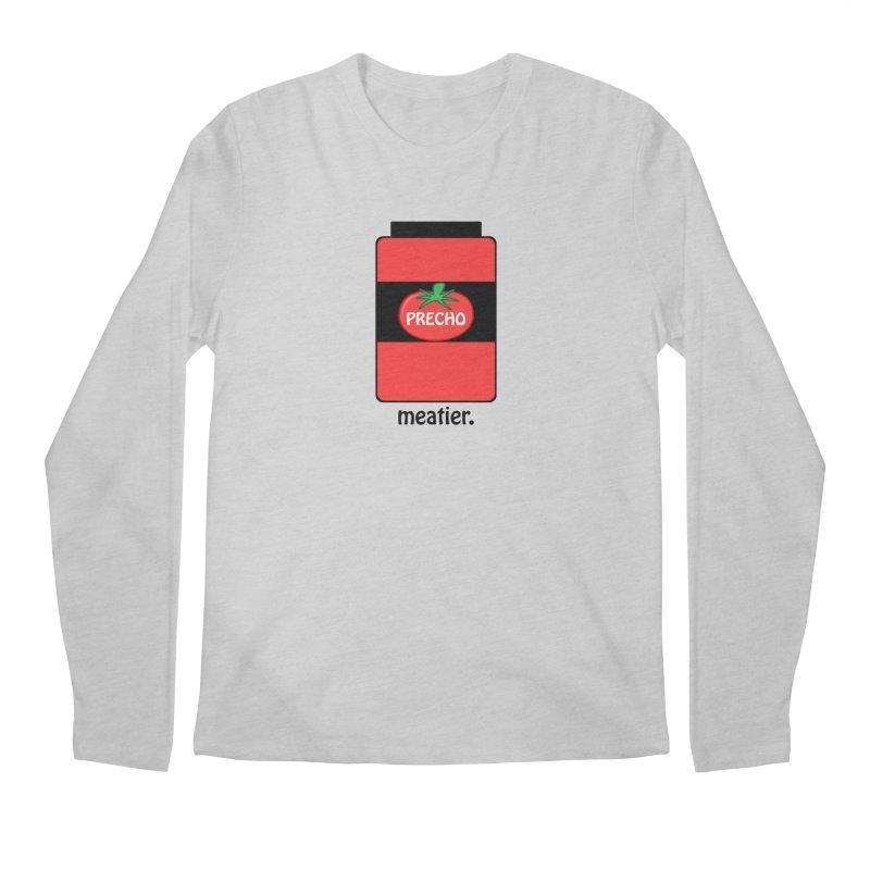 Precho Sauce Men's Regular Longsleeve T-Shirt by TODD SARVIES BAND APPAREL