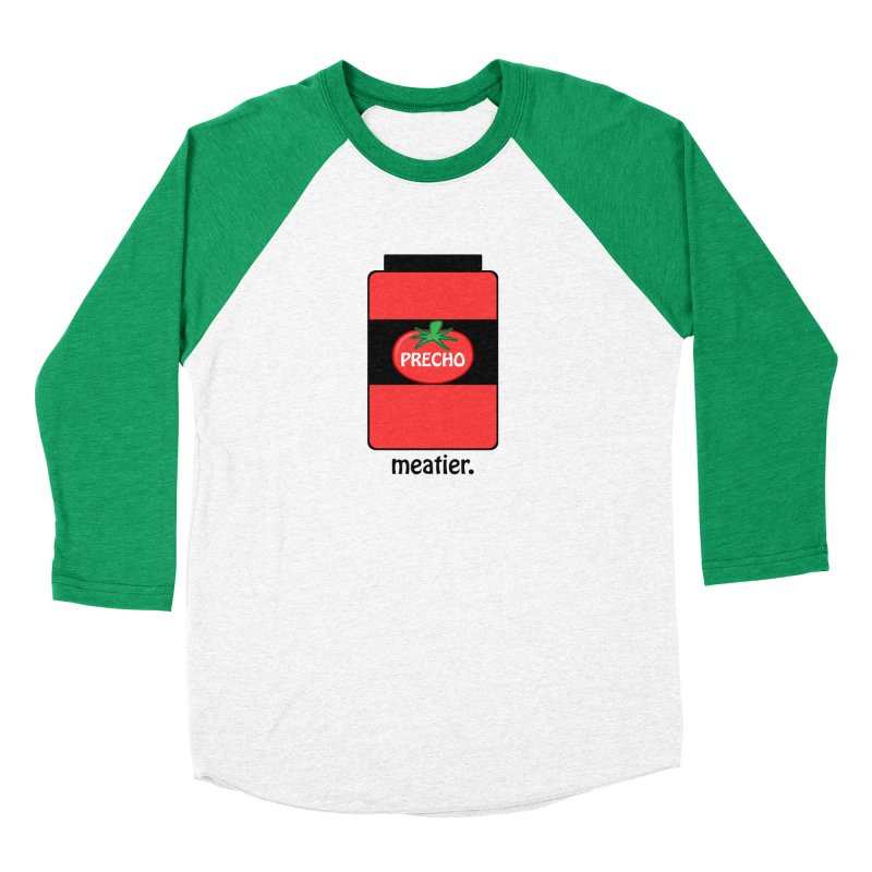 Precho Sauce Men's Baseball Triblend Longsleeve T-Shirt by TODD SARVIES BAND APPAREL