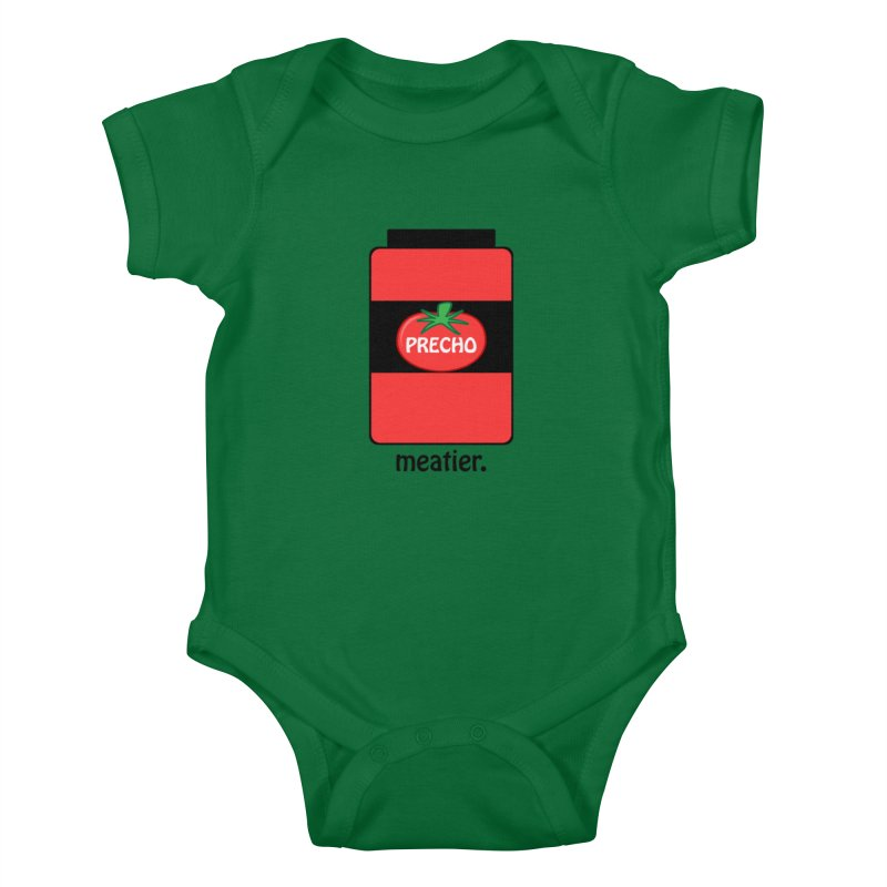Precho Sauce Kids Baby Bodysuit by TODD SARVIES BAND APPAREL
