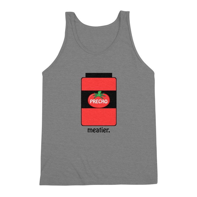Precho Sauce Men's Triblend Tank by TODD SARVIES BAND APPAREL