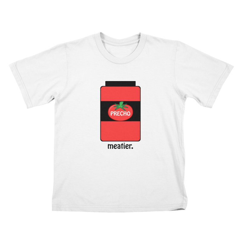 Precho Sauce Kids T-Shirt by TODD SARVIES BAND APPAREL