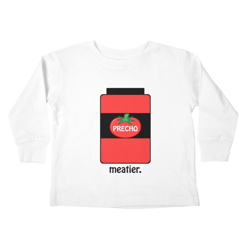 Precho Sauce Kids Toddler Longsleeve T-Shirt by TODD SARVIES BAND APPAREL
