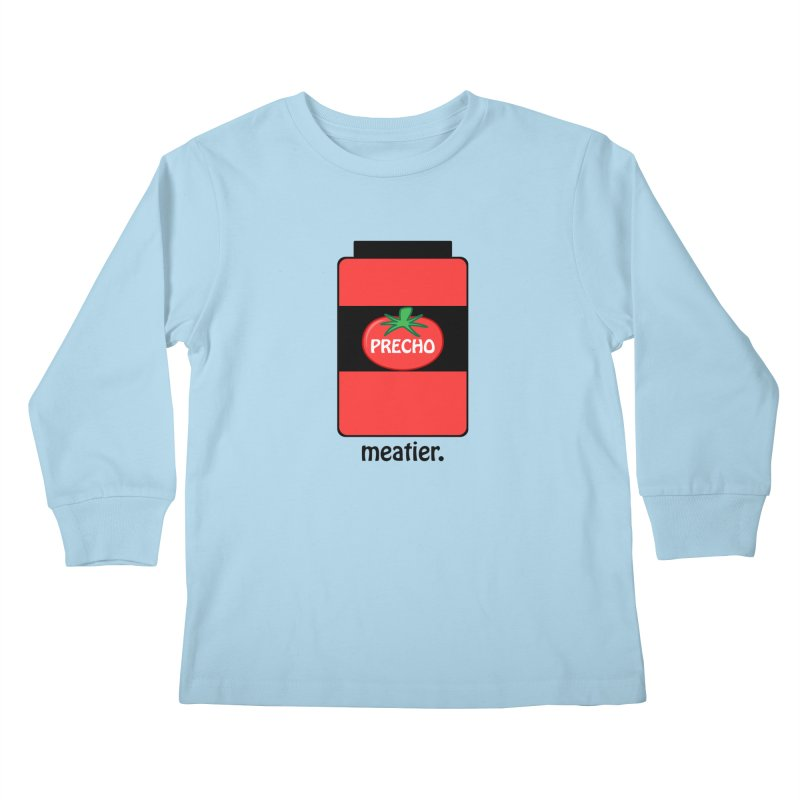 Precho Sauce Kids Longsleeve T-Shirt by TODD SARVIES BAND APPAREL
