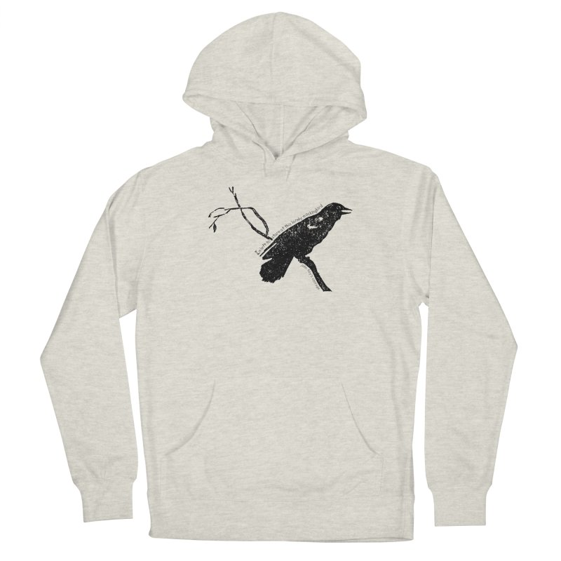 JBC Mocking Bird Women's French Terry Pullover Hoody by TODD SARVIES BAND APPAREL