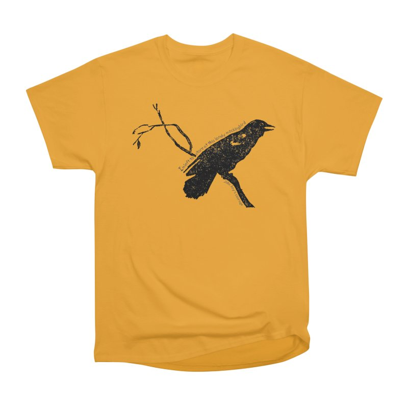 JBC Mocking Bird Men's Heavyweight T-Shirt by TODD SARVIES BAND APPAREL