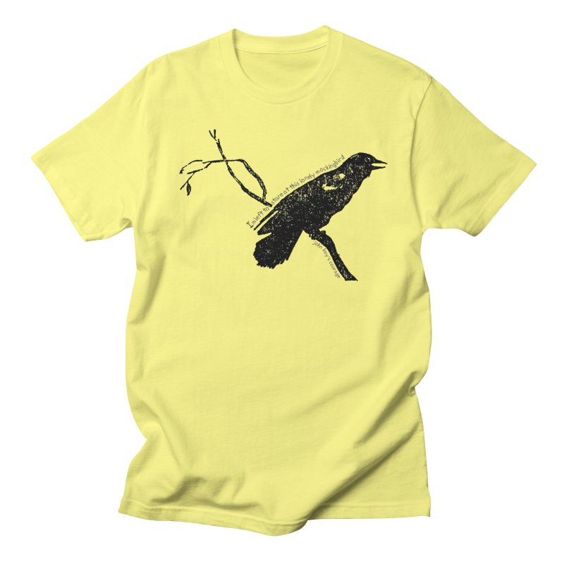 JBC Mocking Bird Men's T-Shirt by TODD SARVIES BAND APPAREL