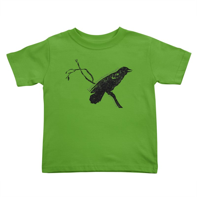 JBC Mocking Bird Kids Toddler T-Shirt by TODD SARVIES BAND APPAREL