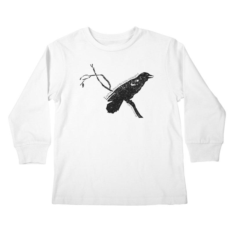 JBC Mocking Bird Kids Longsleeve T-Shirt by TODD SARVIES BAND APPAREL