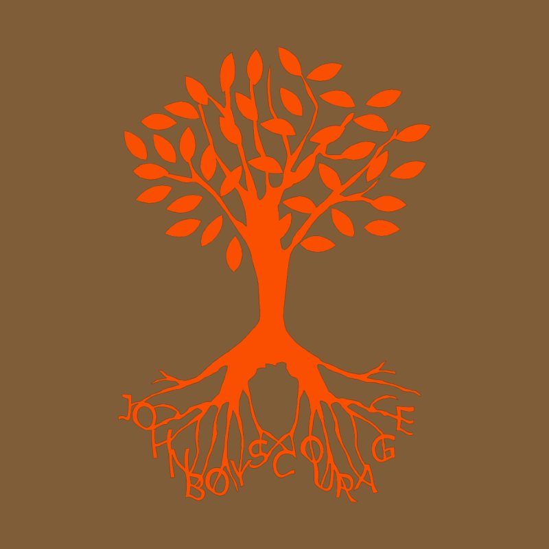 JBC ORANGE TREE Men's V-Neck by TODD SARVIES BAND APPAREL