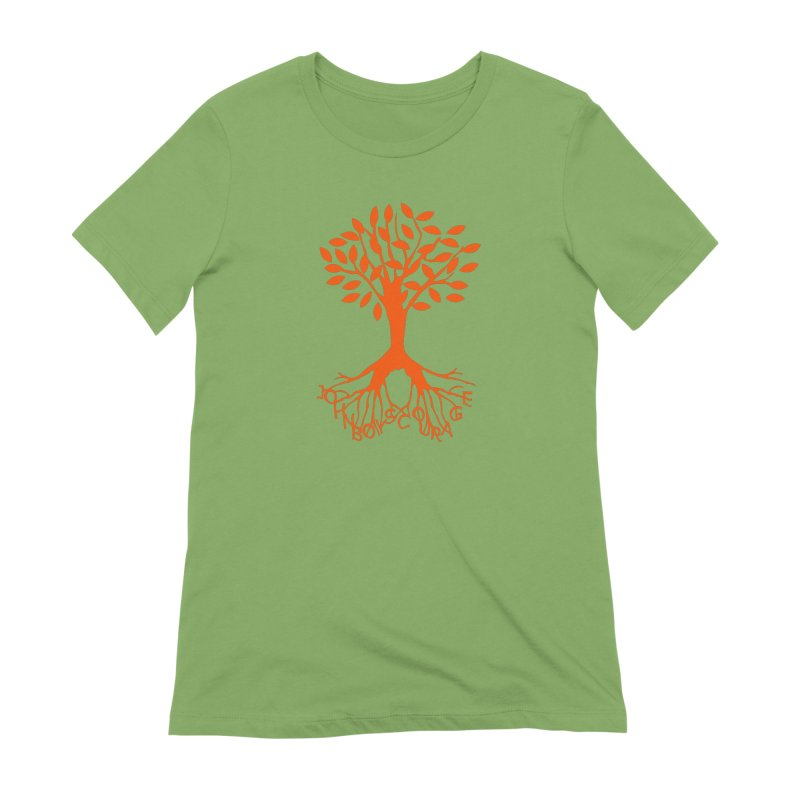 JBC ORANGE TREE Women's Extra Soft T-Shirt by TODD SARVIES BAND APPAREL