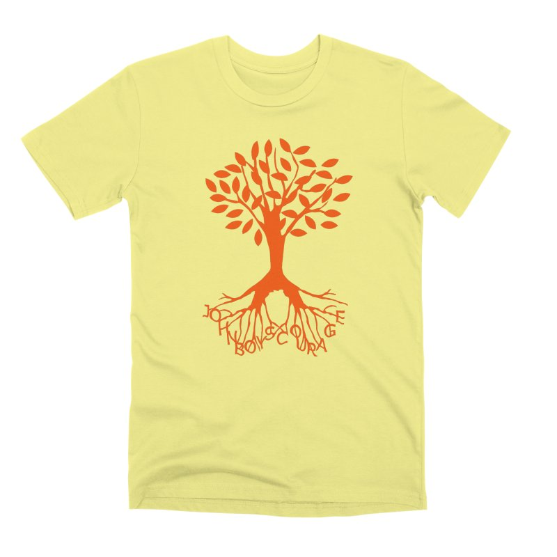 JBC ORANGE TREE Men's Premium T-Shirt by TODD SARVIES BAND APPAREL