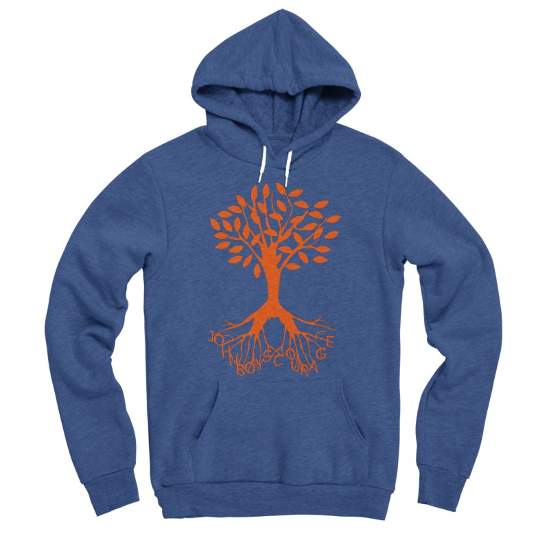 JBC ORANGE TREE Women's Sponge Fleece Pullover Hoody by TODD SARVIES BAND APPAREL