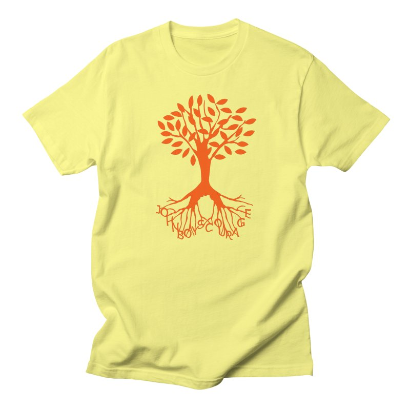 JBC ORANGE TREE in Men's Regular T-Shirt Lemon by TODD SARVIES BAND APPAREL