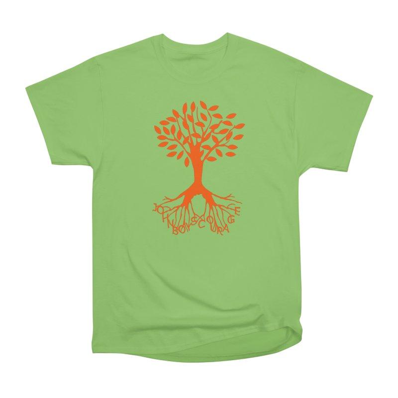 JBC ORANGE TREE Men's Heavyweight T-Shirt by TODD SARVIES BAND APPAREL