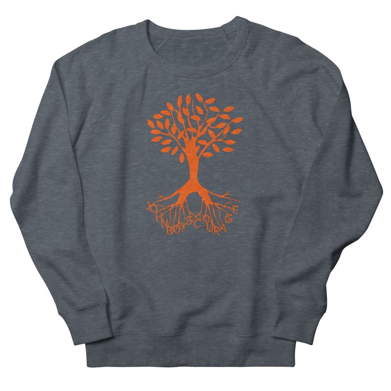 JBC ORANGE TREE Women's French Terry Sweatshirt by TODD SARVIES BAND APPAREL