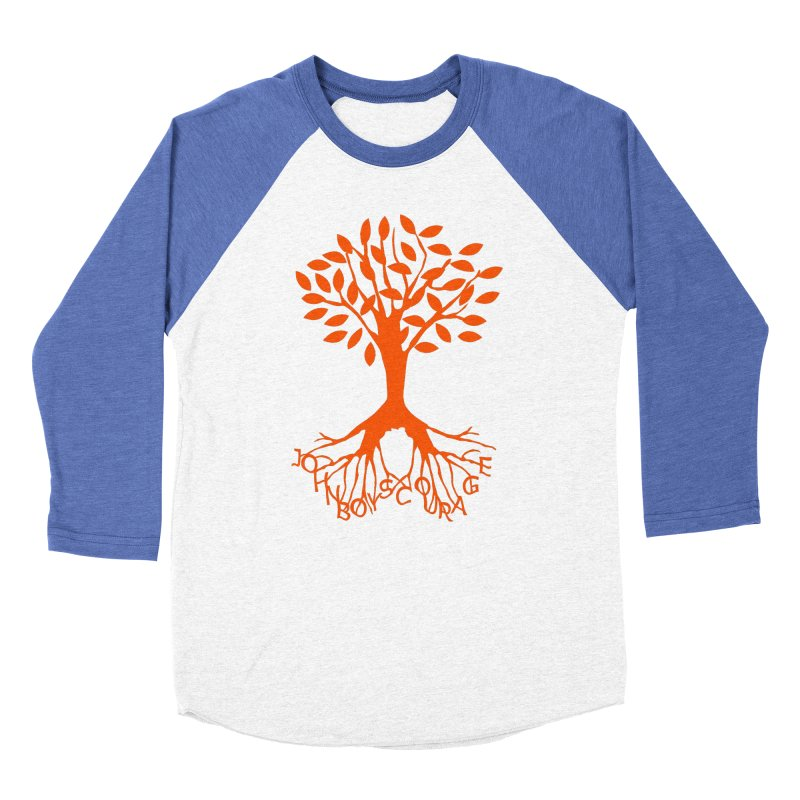 JBC ORANGE TREE Women's Baseball Triblend Longsleeve T-Shirt by TODD SARVIES BAND APPAREL