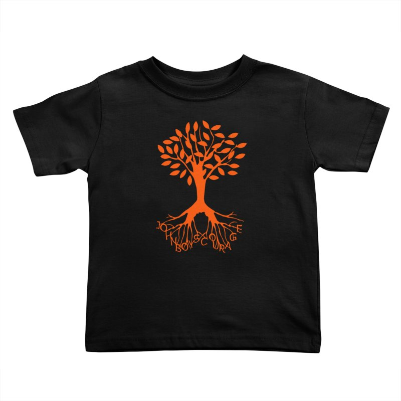 JBC ORANGE TREE Kids Toddler T-Shirt by TODD SARVIES BAND APPAREL