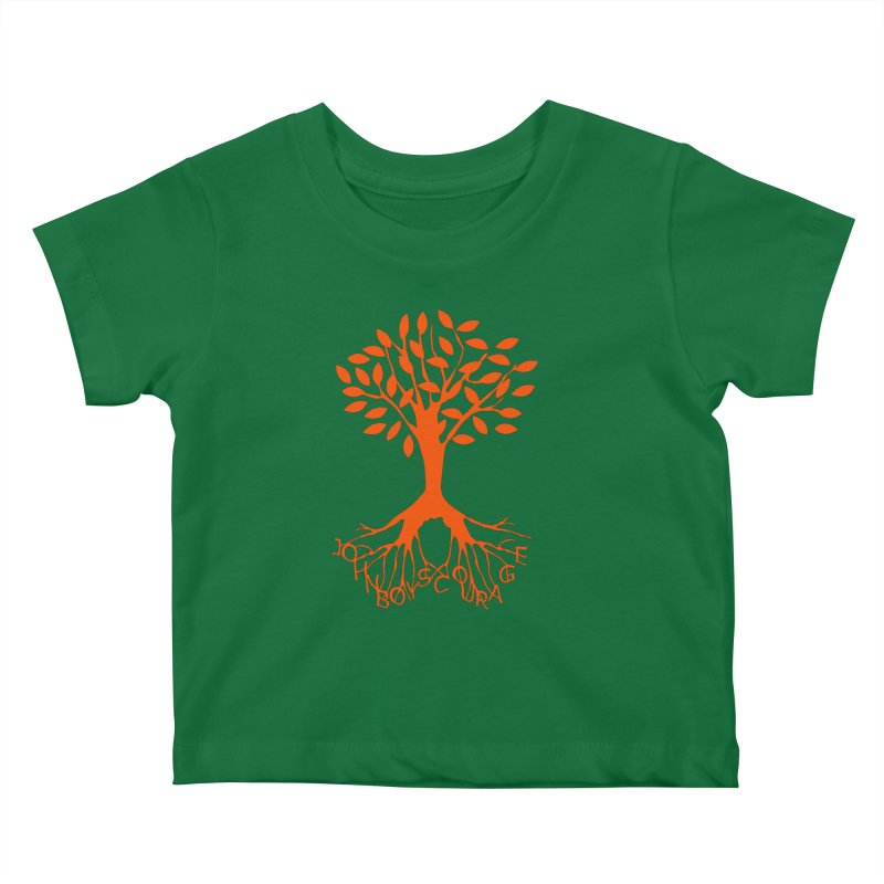 JBC ORANGE TREE Kids Baby T-Shirt by TODD SARVIES BAND APPAREL
