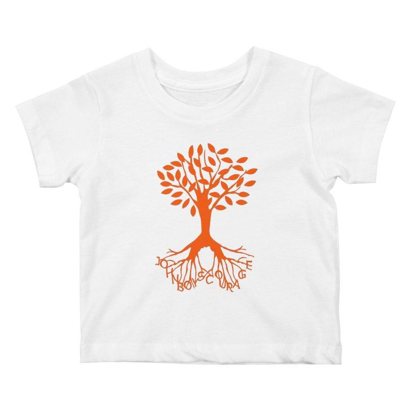 JBC ORANGE TREE Kids Baby T-Shirt by TODD SARVIES BAND APPAREL