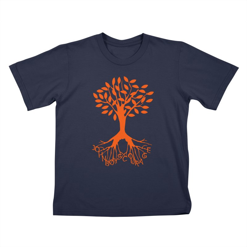 JBC ORANGE TREE Kids T-Shirt by TODD SARVIES BAND APPAREL