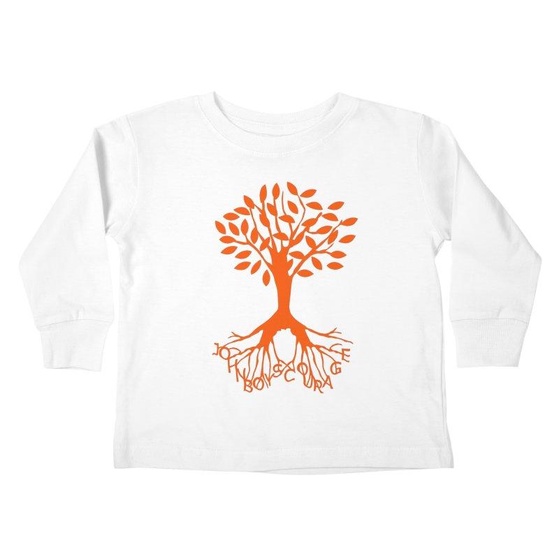 JBC ORANGE TREE Kids Toddler Longsleeve T-Shirt by TODD SARVIES BAND APPAREL