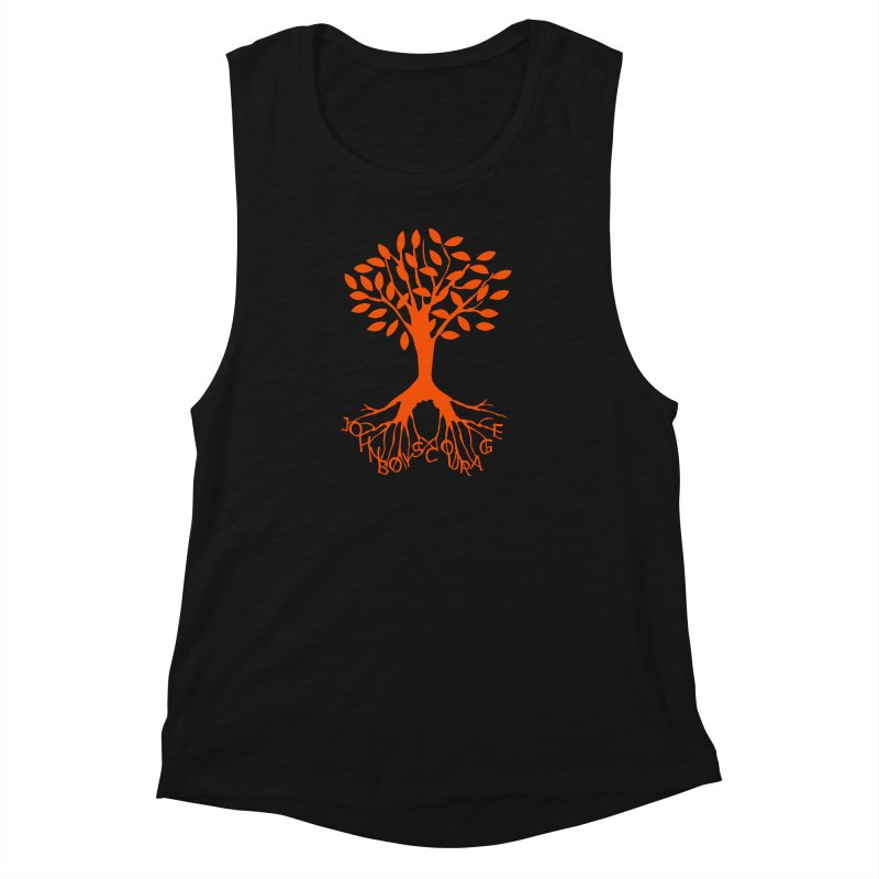 JBC ORANGE TREE Women's Muscle Tank by TODD SARVIES BAND APPAREL
