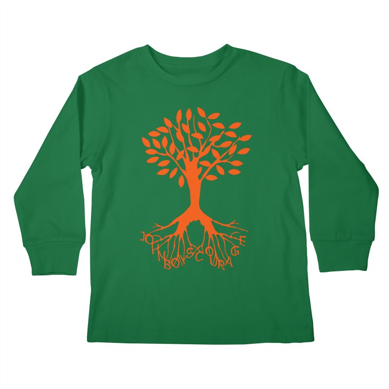 JBC ORANGE TREE Kids Longsleeve T-Shirt by TODD SARVIES BAND APPAREL