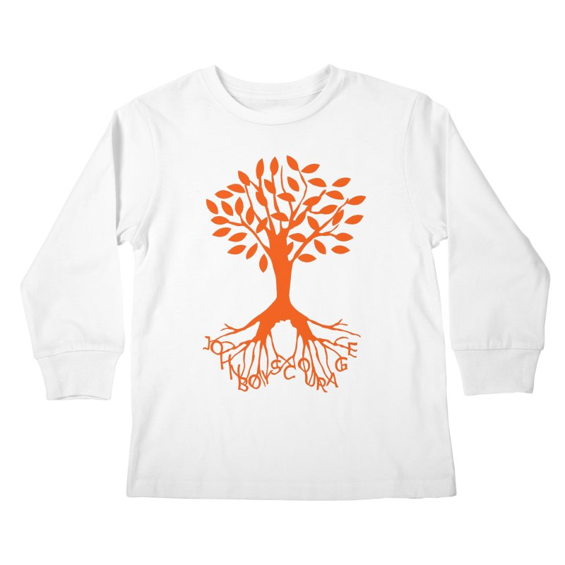 JBC ORANGE TREE Kids Longsleeve T-Shirt by TODD SARVIES BAND APPAREL