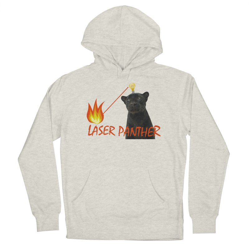 Laser Panther Men's French Terry Pullover Hoody by TODD SARVIES BAND APPAREL