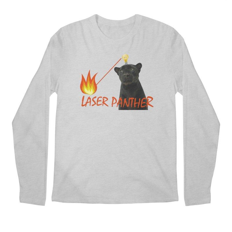 Laser Panther Men's Regular Longsleeve T-Shirt by TODD SARVIES BAND APPAREL