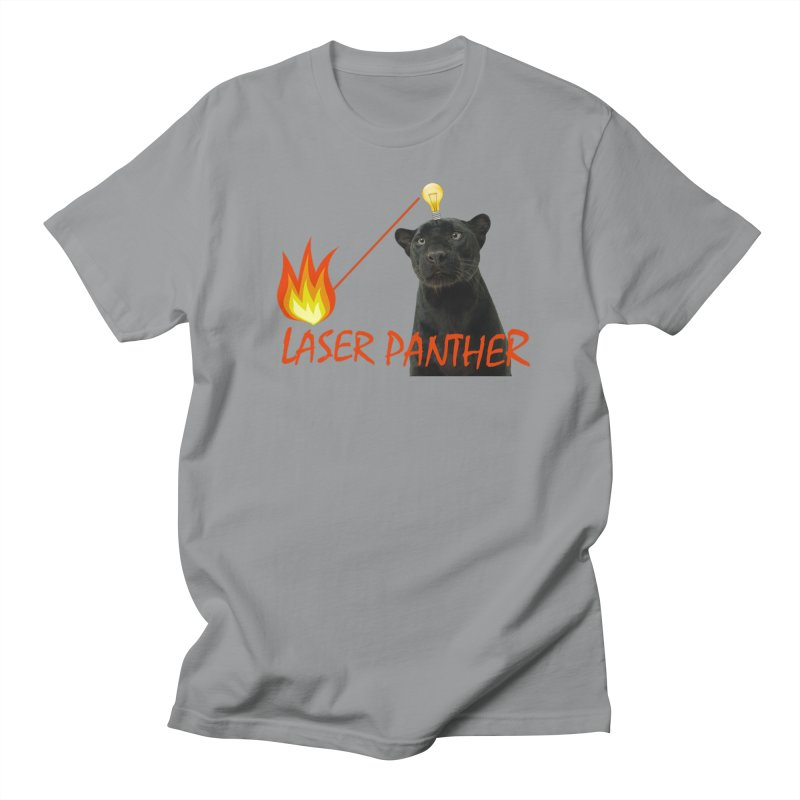Laser Panther Men's Regular T-Shirt by TODD SARVIES BAND APPAREL
